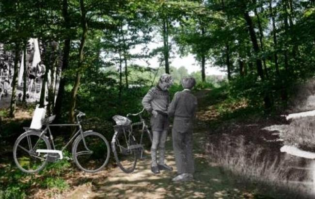 """Komponist Hans Sydow udgav sin musik som filminstallationen """"Jeg kan huske ® Danmark"""". Foto: Ketil Teisen"""